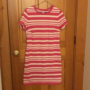 Old Navy pink and white striped dress